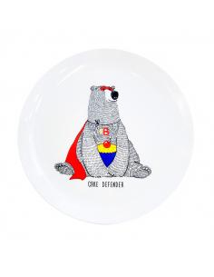 "Plate ""Bear"""