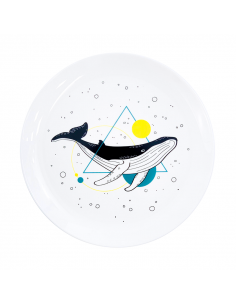 """Plate """"Whale"""""""