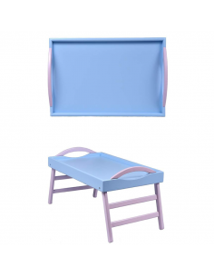"""Leg tray with handles """"Blue"""""""