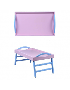 """Leg tray with handles """"Lilac"""""""