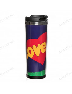 "Термокружка ""Love is"""