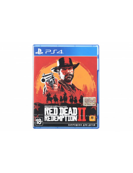 Игра PS4 Red Dead Redemption 2 [Blu-Ray диск]