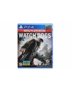 Игра PS4 Watch Dogs  (Хиты PlayStation)[Blu-Ray диск]