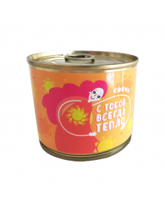 "Canned candle ""It's always..."