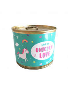 "Canned candle ""Unicorn love"" S"