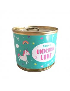"""Консерва - свічка """"Unicorn..."""