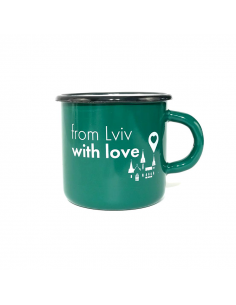 Metal Mug From Lviv with love
