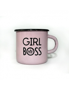 Metal Mug Girl boss