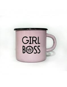 Металлическая кружка Girl boss