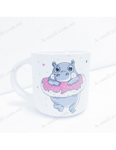 """Cup """"Donate Worry"""""""
