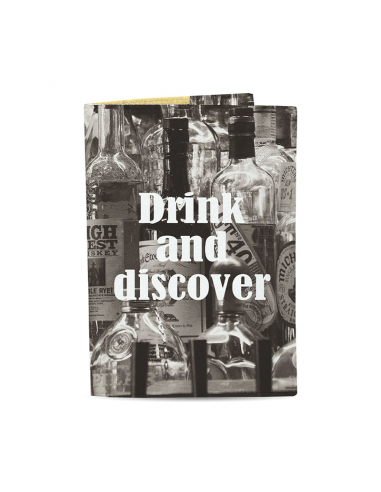 Passport Cover Drink and discover
