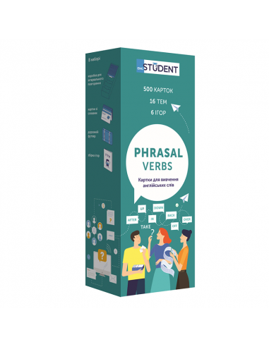 Phrasal Verbs Cards for learning English