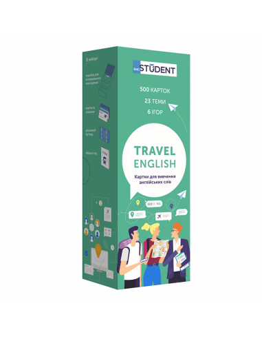 Travel English Cards for learning...