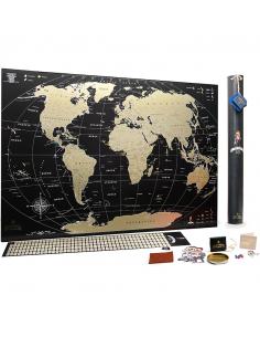 Scratch World Map MyMap...