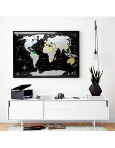 Скретч карта мира MyMap...