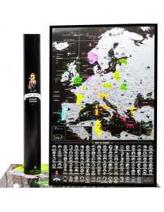 Scratch map of Europe My...