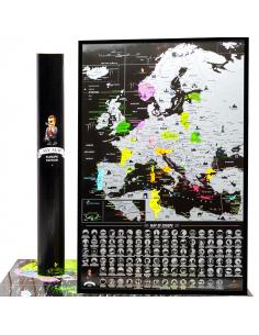 Скретч карта Европы My Map...