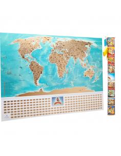 Скретч карта мира My Map...