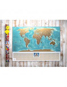 Скретч карта світу My Map...