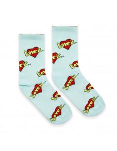 Високі шкарпетки Love is...