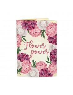 Passport Cover Flower Power