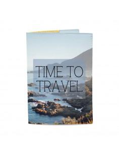 Обложка для паспорта Time...