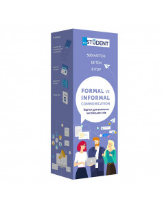 Study cards - Formal vs...