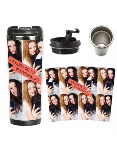 Customized thermo mug with your...