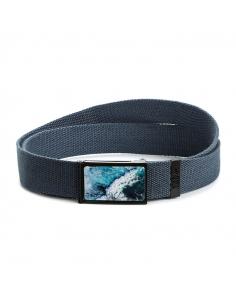 """Ocean Wave"" fabric belt"