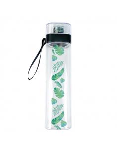 Water Bottle Palm leaves