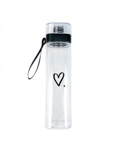 Пляшка для води Серденько