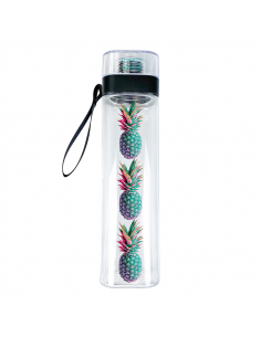 Water Bottle A pineapple