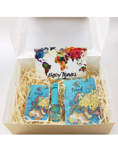 Gift Set Travel Map