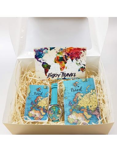 Подарунковий набір Карта подорожей
