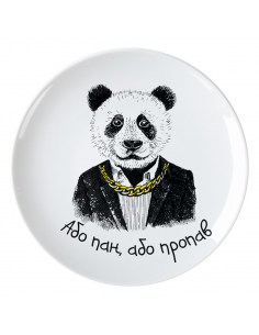 """Panda Plate - """"Either Mr...."""