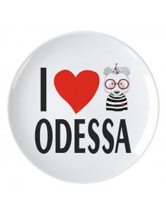 """Plate Odessa """"Heart"""""""