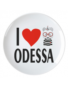 Тарілка Одеса «Серце»