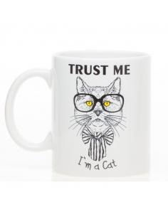 """Mug """"Trust me I'm a cat"""""""
