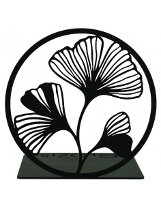 Bookend Ginkgo Black