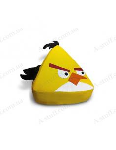 "Кресло мешок ""Жёлтая птица Angry birds"""