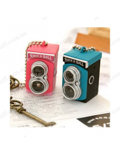 "Keychain Flashlight ""Retro Camera"""