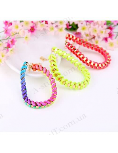"Colorful Bracelet ""Weave lightning"""