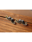 "Earrings ""Moustaches"""
