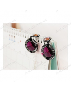 "Big earrings ""Shine Stones"""