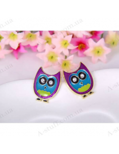 "Earrings ""Funky Owls"""