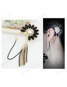 "Cuff on ear ""Sun Flower"""